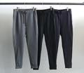 SUPER 100'S COMPRESSION WOOL JOG PANTS