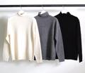 7G WOOL TURTLE NECK KNIT