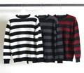 7G WOOL MOHAIR BOADER PULL OVER KNIT
