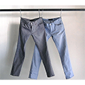 NO.55 SUPER SKINNY STRETCH BLEACH DENIM