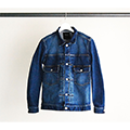 STRETCH DENIM G-JKT TYPE 2ND
