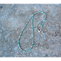 Magine×idealismsound SILVER & TURQUOISE NECKLACE
