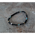 Magine×NARRATIVE PLATOON ONYX BEADS BRACELET