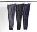LANATEC POLYESTER TWILL TAPERED RIB PANTS