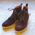 SUEDE 6HOLE VIBRAM WORK BOOTS